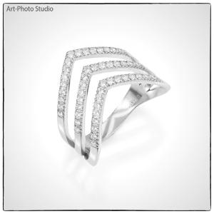 съемка товаров для каталогов сайтов - ювелирные украшения из серебра