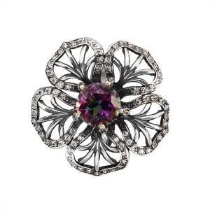 предметная съемка ювелирных изделий в Харькове - кольцо из серебра