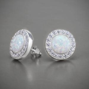 фотосъемка ювелирных ювелирных украшений из серебра - серьги