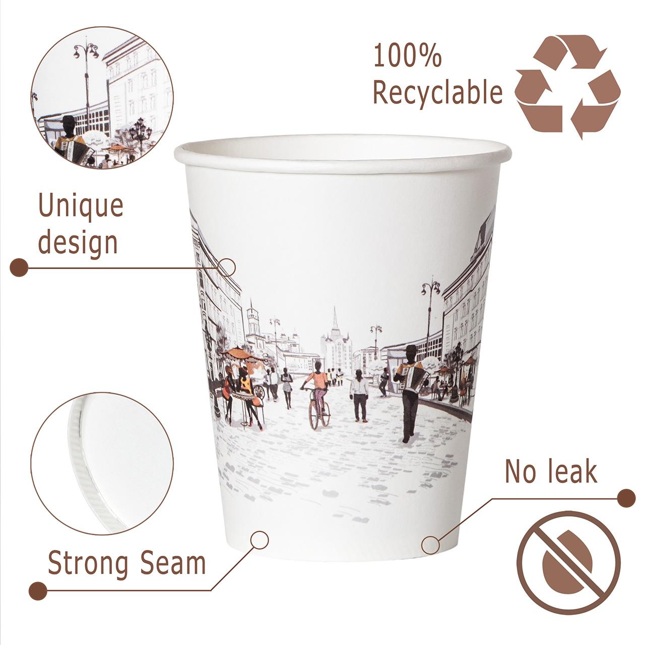 инфографика  для листинга на амазон - пример фото стакана для напитков