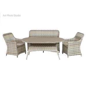 предметная съемка плетеной мебели для каталога