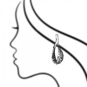 ювелирные украшения из серебра для каталога - предметная фотосъемка в Харькове