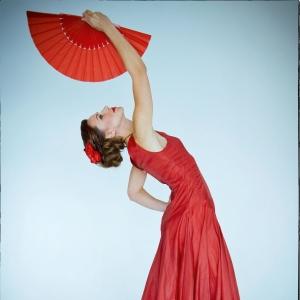 Испанский танец с веером - фото-сессии в Харькове