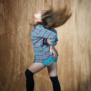 женский портрет в экспрессии - студийные фотосессии в Харькове