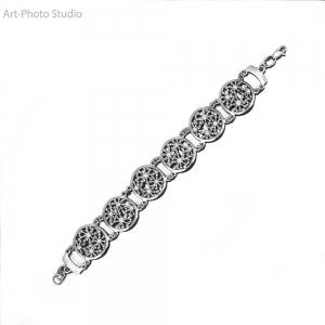 фотосъемка ювелирных украшений в Харькове - браслеты из серебра