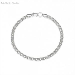 предметная съемка ювелирных изделий - браслеты из серебра