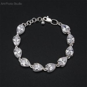 каталожная фотосъемка ювелирных изделий - браслеты из серебра