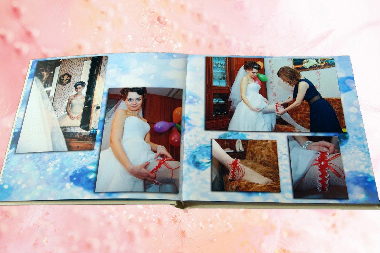 Оформить свадебный альбом фото