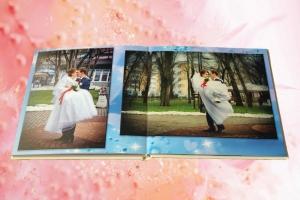 свадебная фотокнига - дизайн и печать
