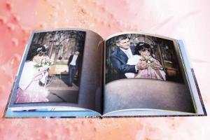 Пример свадебной полиграфической фотокниги