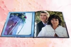Вариант свадебной полиграфической фотокниги