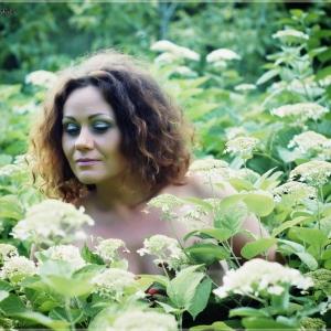цветочная фея - фотосессии на пленэре в Харькове