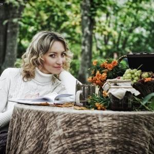 улыбка девушки - фотосессии на пленэре в Харькове