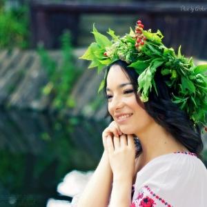 девушка на празднике Ивана Купала - фотосессии в Харькове