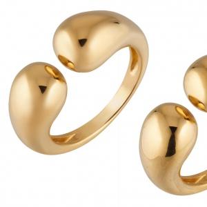 Ретушь серебряного кольца с позолотой