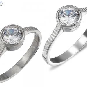 Предметная ретушь ювелирных украшений - серебряное кольцо