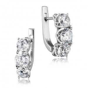 ювелирные украшения из серебра - серьги