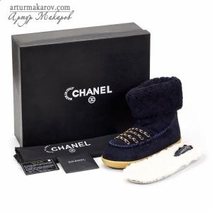 фото обуви TM CHANEL с упаковкой и аксессуарами