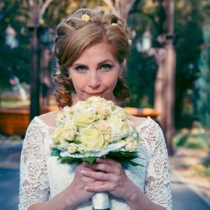 Свадебный фото-портрет - чарующий взгляд невесты