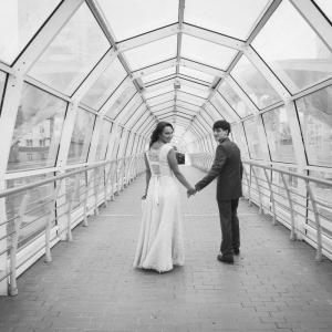 портрет молодоженов - фото свадьбы в Белгороде