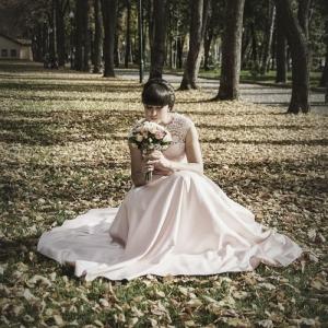 свадебное фото в Харькове в парке Горького