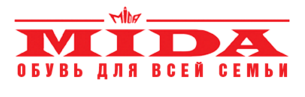логотип сайта по продаже обуви Mida