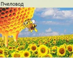 логотип пчеловода