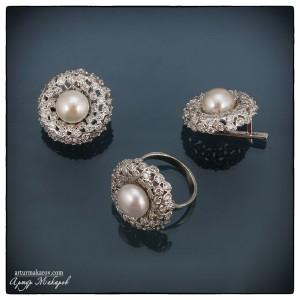 Фотосъемка ювелирных изделий из серебра в Харькове