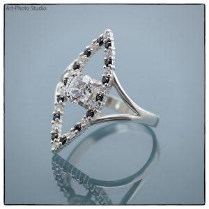 ювелирные украшения из серебра - кольцо с отражением