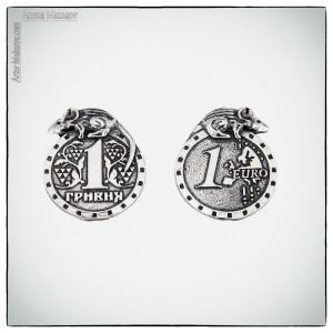 предметка - подвеска в виде монеты