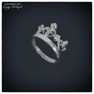 фотограф предметной съемки - серебряное кольцо
