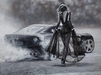 фотосъемка живописных полотен - картина масло